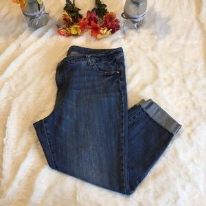 Kut from the Kloth Amy Ankle Jeans Size 20W